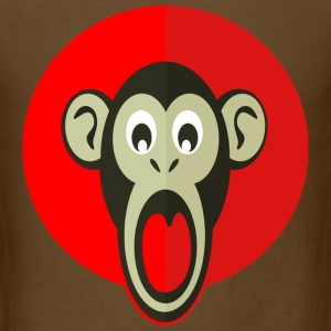 Shocked Monkey - Men's T-Shirt