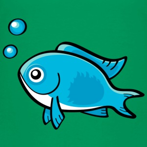 Little Blue Fish - Toddler Premium T-Shirt