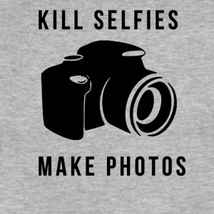 Kill selfies T-Shirts - Fitted Cotton/Poly T-Shirt by Next Level