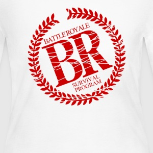 Battle Royale Survival  - Women's Long Sleeve Jersey T-Shirt