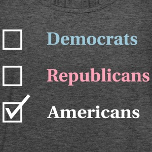 Election Ballot - Americans Tanks - Women's Flowy Tank Top by Bella