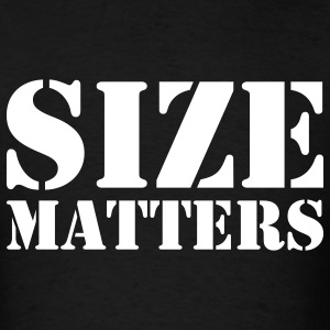 Size matters - Men's T-Shirt