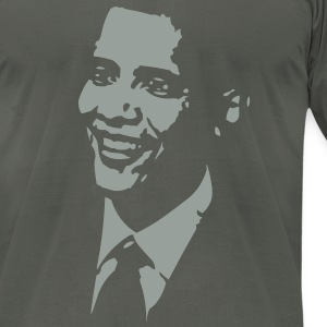 Barack Obama T-Shirts - Men's T-Shirt by American Apparel