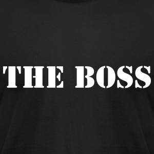 The boss - Men's T-Shirt by American Apparel