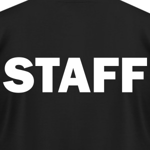 Staff - Men's T-Shirt by American Apparel