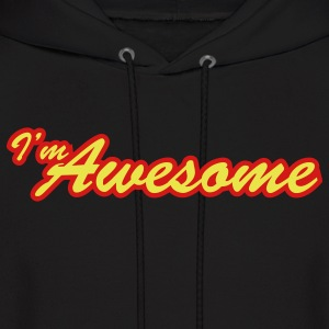 i'm awesome - Men's Hoodie