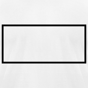 Blank sign shape - Men's T-Shirt by American Apparel