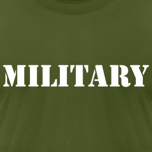 Military - Men's T-Shirt by American Apparel