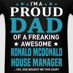 Ronald McDonald House Manager's Dad - Men's T-Shirt