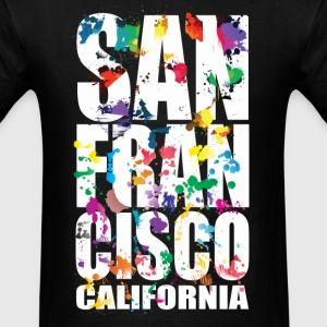 San Francisco California - Men's T-Shirt