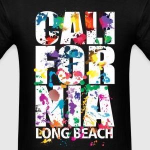 Long Beach California - Men's T-Shirt