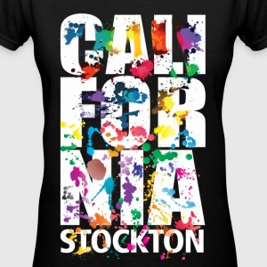 Stockton California - Women's V-Neck T-Shirt
