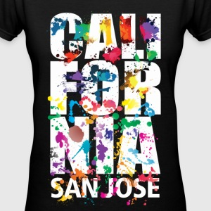 San jose California - Women's V-Neck T-Shirt
