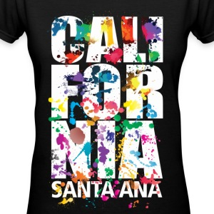 Santa Ana California - Women's V-Neck T-Shirt