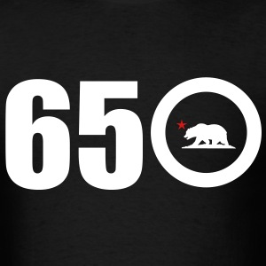 Area Code 650 - Men's T-Shirt