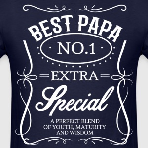 BEST PAPA T-Shirts - Men's T-Shirt