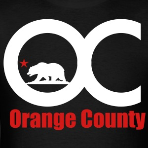 Orange County - Men's T-Shirt