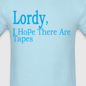comey_lordy_i_hope_there_are_tapes_ - Men's T-Shirt