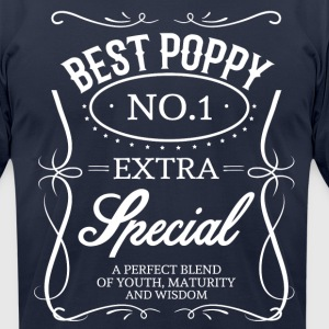 BEST POPPY T-Shirts - Men's T-Shirt by American Apparel