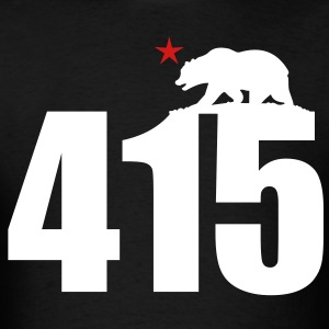 Area Code 415 - Men's T-Shirt