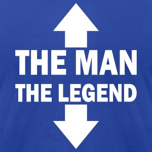 The man the legend - Men's T-Shirt by American Apparel