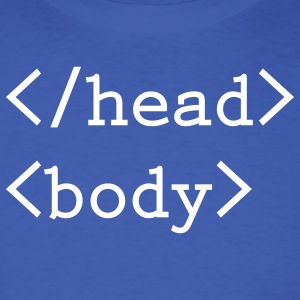 Head body html tag - Men's T-Shirt