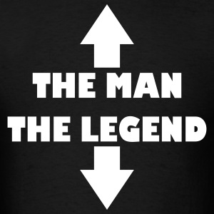 The man the legend - Men's T-Shirt