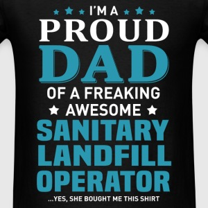 Sanitary Landfill Operator's Dad - Men's T-Shirt