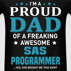 SAS Programmer's Dad - Men's T-Shirt