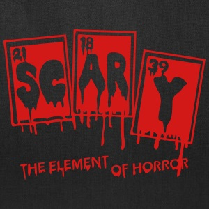 Halloween Periodic Table Scary Element Of Horror - Tote Bag