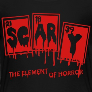Halloween Periodic Table Scary Element Of Horror - Toddler Premium T-Shirt