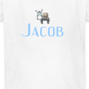 jacob name DONKEY CUTE LITTLE BOYS shirt Kids' Shirts - Kids' T-Shirt