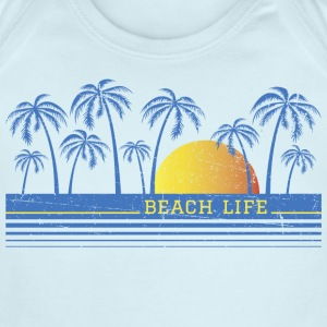 Beach Life Baby Body - Short Sleeve Baby Bodysuit