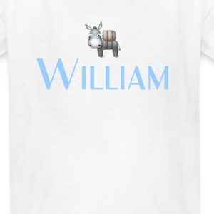 William name DONKEY CUTE LITTLE BOYS shirt Kids' Shirts - Kids' T-Shirt
