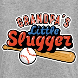 Grandpa's Little Slugger Baby & Toddler Shirts - Toddler Premium T-Shirt