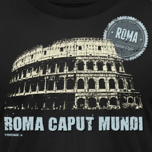 Italian cities - ROME T-Shirts - Men's T-Shirt by American Apparel