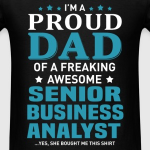 Senior Business Analyst's Dad - Men's T-Shirt