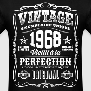 Vintage 1968 Vieilli á la Perfection blanc - Men's T-Shirt