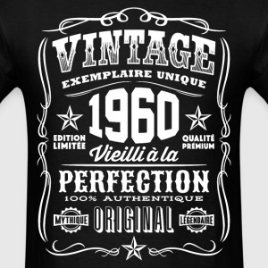 Vintage 1960 Vieilli á la Perfection blanc - Men's T-Shirt