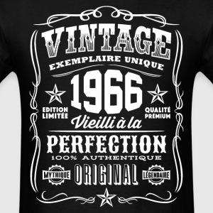 Vintage 1966 Vieilli á la Perfection blanc - Men's T-Shirt