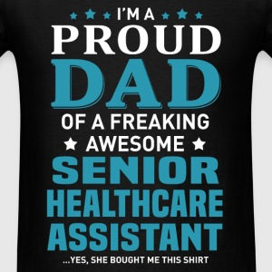 Senior Healthcare Assistant's Dad - Men's T-Shirt