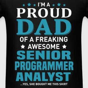 Senior Programmer Analyst's Dad - Men's T-Shirt