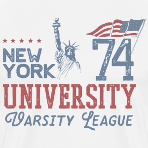 NEW YORK VARSITY - Men's Premium T-Shirt