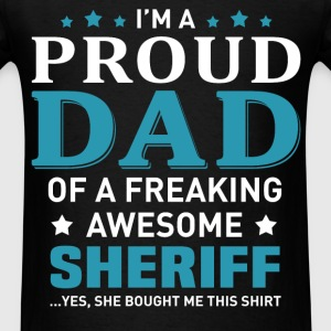 Sheriff's Dad - Men's T-Shirt