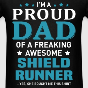 Shield Runner's Dad - Men's T-Shirt
