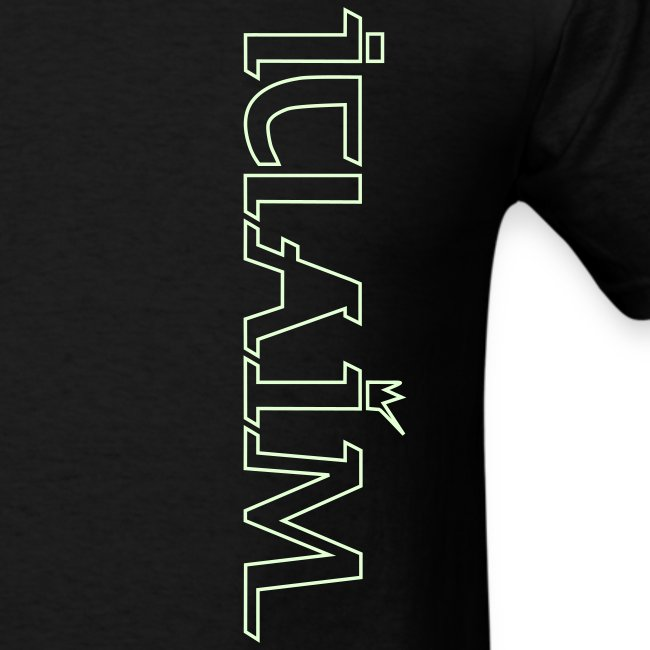 ICLAIM Light In The Darkness T-Shirt (Glow in the dark)