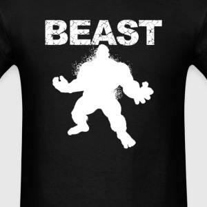 Beast Muscle Guy workout - Men's T-Shirt