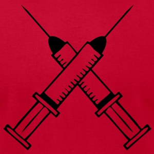 syringe T-Shirts - Men's T-Shirt by American Apparel
