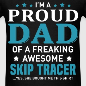 Skip Tracer's Dad - Men's T-Shirt
