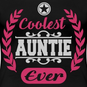 AUNTIE 1BBBBBBB.png T-Shirts - Women's Premium T-Shirt